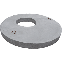 Capace din beton armat cu gaura