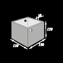 Резервуар  3 000 литров